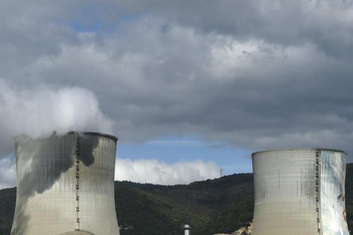 С акцията екоактивистите показват недостатъците в сигурността в атомните електроцентрали