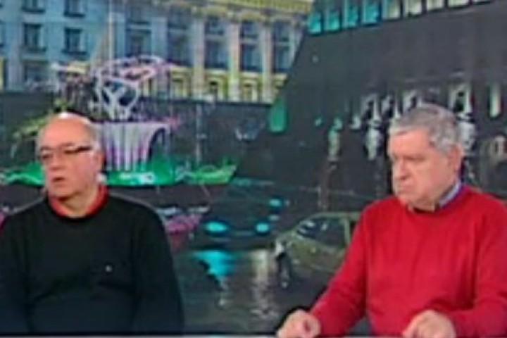 За това спориха проф. Михаил Константинов и социологът Кънчо Стойчев.