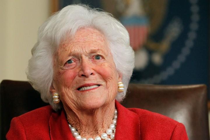 """Това съобщи в """"Туитър"""" говорителят на съпруга й. """"Барбара Буш"""