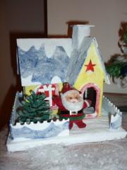 Violina77@abv.bg | Коледна картонена къщичка | 9 харесвания