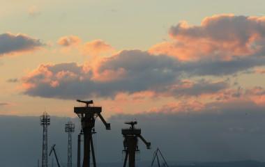 Kaloyana101 | На смрачаване в пристанище Варна | 25 харесвания